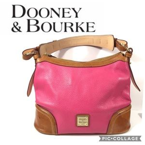 Dooney & Bourke Erica Pink Hobo